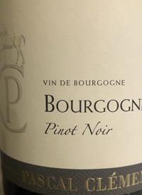 Pascal Clément Bourgogne Pinot Noirtext