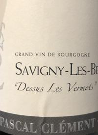 Pascal Clément Savigny-les-Beaunes Dessus Les Vermotstext