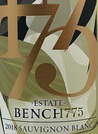 Bench 1775 Estate Sauvignon Blanctext