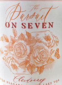 On Seven The Pursuit Chardonnaytext
