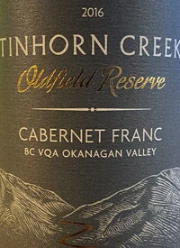Tinhorn Creek Oldfield Series Cabernet Franctext