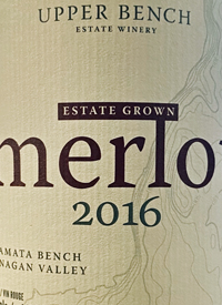 Upper Bench Merlot Estate Growntext