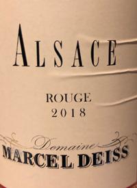 Marcel Deiss Alsace Rougetext
