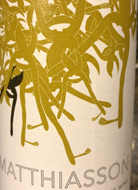 Matthiasson Napa Valley White Winetext