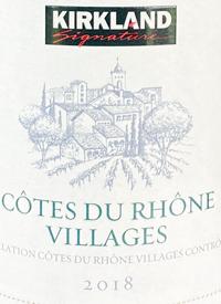 Kirkland Signature Cotes du Rhone Villagestext
