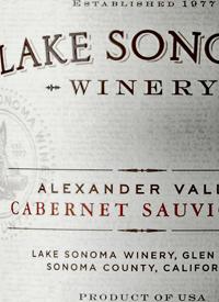 Lake Sonoma Cabernet Sauvignontext