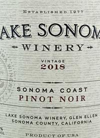 Lake Sonoma Pinot Noirtext