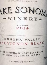 Lake Sonoma Sauvignon Blanctext