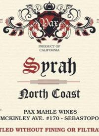 Pax North Coast Syrahtext