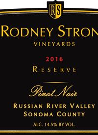 Rodney Strong Pinot Noir Reservetext