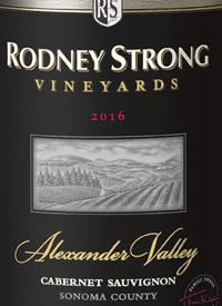 Rodney Strong Cabernet Sauvignon Alexander Valleytext