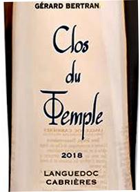 Gérard Bertrand Clos du Templetext