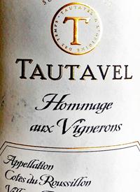Gérard Bertrand Tautavel Hommage aux Vigneronstext