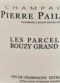 Champagne Pierre Paillard Les Parcelles Bouzy Grand Cru Extra Brut XIVtext