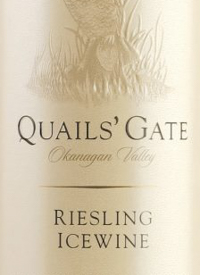 Quails' Gate Riesling Icewinetext