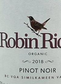 Robin Ridge Organic Pinot Noirtext