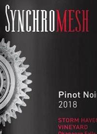 Synchromesh Storm Haven Vineyard Pinot Noirtext