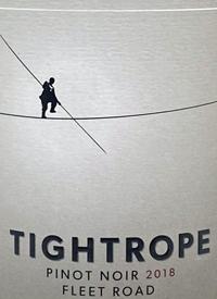 Tightrope Winery Pinot Noir Fleet Roadtext