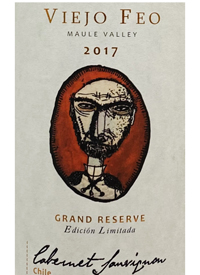 Tinjas del Maule Viejo Feo Cabernet Sauvignon Grand Reserve Edicion Limitadatext