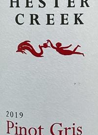 Hester Creek Pinot Gristext