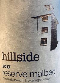 Hillside Reserve Malbectext