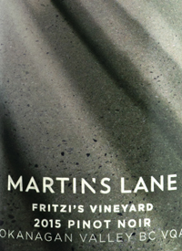 Martin's Lane Fritzi's Vineyard Pinot Noir
