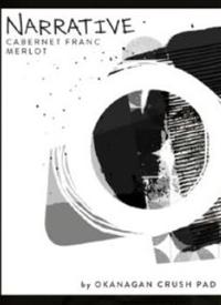 Narrative Red Cabernet Franc Merlot by Okanagan Crush Pad