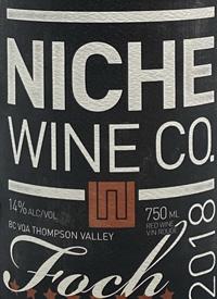 Niche Wine Co. Fochtext