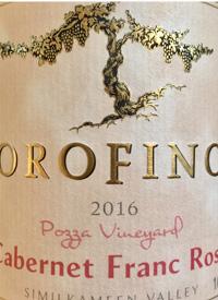 Orofino Vineyards Cabernet Franc Rosè Pozza Vineyardtext