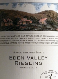 Pewsey Vale Single Vineyard Estate Rieslingtext