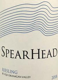 Spearhead Rieslingtext