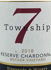 Township 7 Reserve Chardonnay Becker Vineyardtext