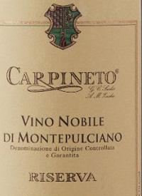 Carpineto Vino Nobile di Montepulciano Riservatext