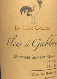 La Tour Gallus Fleur de Gabbro Muscadet Sevre et Maine Sur Lietext