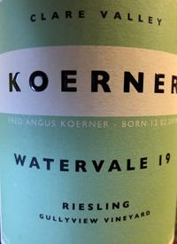 Koerner Watervale Rieslingtext