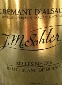 J. M. Sohler Crémant d'Alsace Brut Blanc de Blancs