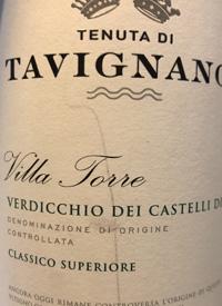 Tenuta di Tavignano Villa Torretext