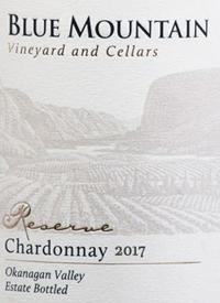 Blue Mountain Reserve Chardonnay
