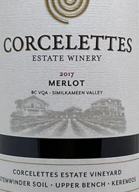 Corcelettes Merlottext