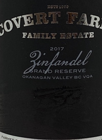 Covert Farms Zinfandel Grand Reserve