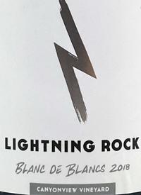 Lightning Rock Blanc de Blancs Canyonview Vineyard Brut Naturetext