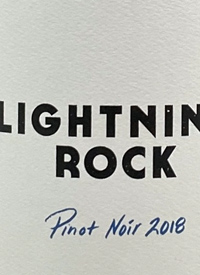Lightning Rock Canyonview Vineyard Pinot Noir