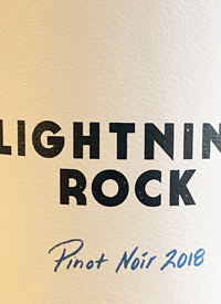 Lightning Rock Pinot Noir Elysia Vineyardtext