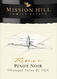 Mission Hill Reserve Pinot Noirtext