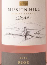 Mission Hill Reserve Rosétext