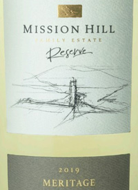 Mission Hill Reserve Meritage White