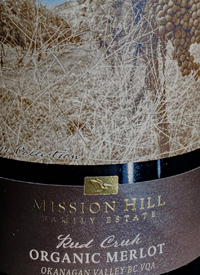 Mission Hill Terroir Collection Organic Merlot Reed Creektext
