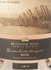 Mission Hill Terroir Collection Border Vista Vineyard Rosé