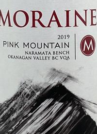 Moraine Pink Mountain Rosé