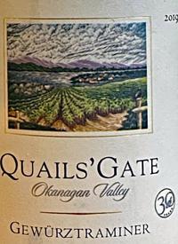 Quails' Gate Gewürztraminertext
